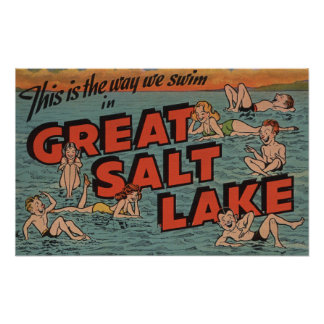 Great Salt Lake, UtahThe Way We SwimUtah Posters