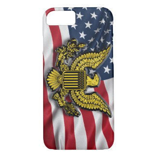 Great seal of the USA with American flag iPhone 7 Case