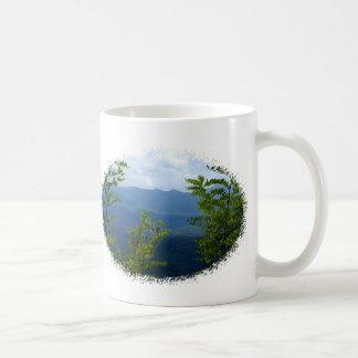 Great Smokey Mountains Basic White Mug