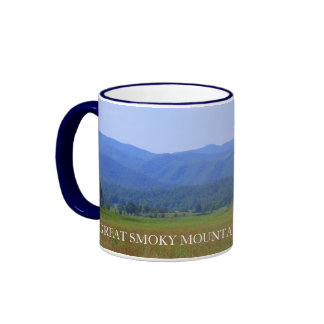 Great Smoky Mountains Overview - Cades Cove Ringer Mug