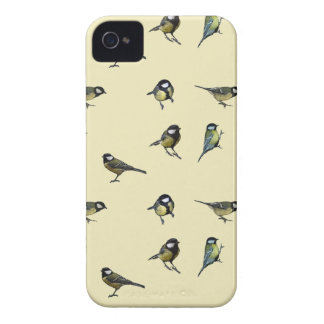 Great tit pattern Case-Mate iPhone 4 case