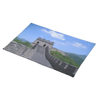 Great Wall in China Placemat