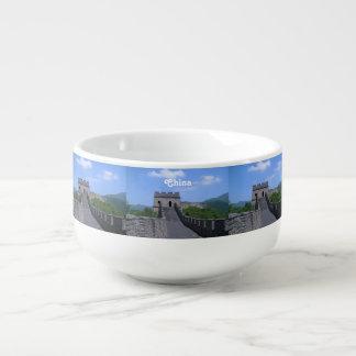 Great Wall in China Soup Mug