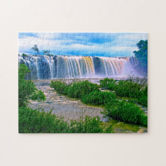 Great waterfall jigsaw puzzle
