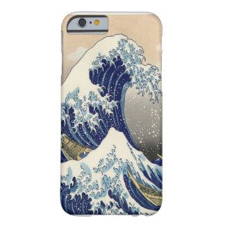 Great Wave Fine Art 葛飾北斎「神奈川沖浪裏」 Barely There iPhone 6 Case