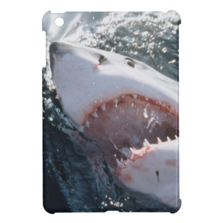 Great White Shark on sea Cover For The iPad Mini