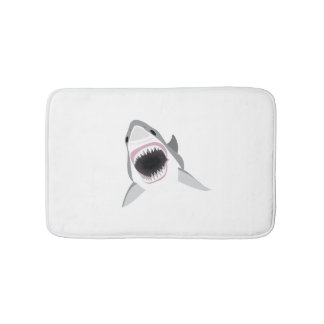 Great White Shark - Shark Attack Bath Mat