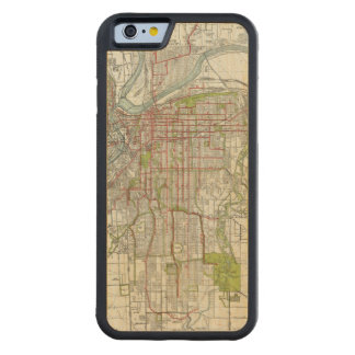 Greater Kansas City Carved Maple iPhone 6 Bumper Case