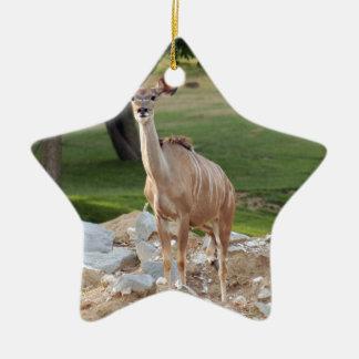 Greater Kudu Christmas Ornament