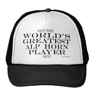 Greatest Alp Horn Player Yet Cap
