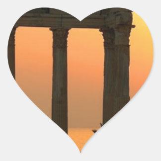 Greece Athens (new) (St.K) Heart Sticker