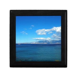 Greece, Crete - a view of the gulf of Mirabello. Gift Box