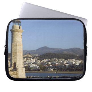 GREECE, CRETE, Rethymno Province, Rethymno: Laptop Sleeve