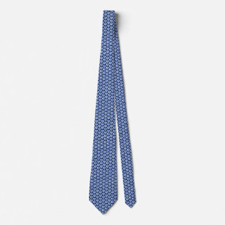Greece Flag Hearts Tie