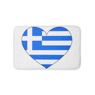 Greece Flag Simple Bath Mat