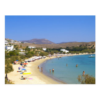 Greece, Paros Island, Krios Beach from above Postcard