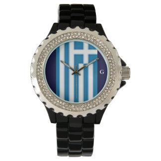 Greece Sport Rhinestone Watch