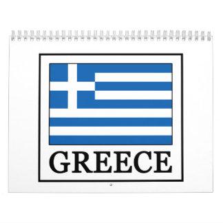 Greece Wall Calendar