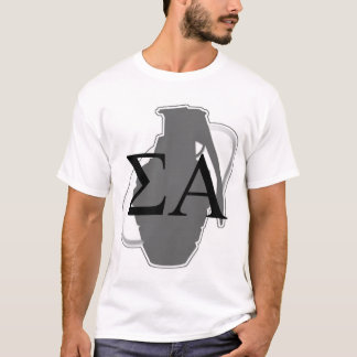 Greek and Grenade T-Shirt