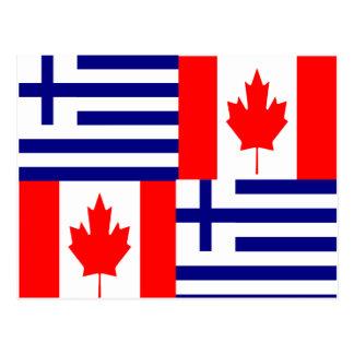 GREEK-CANADIAN POSTCARD