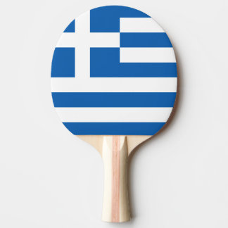 Greek flag ping pong paddle for table tennis