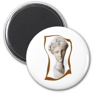 greek muse of poetry 2 refrigerator magnet