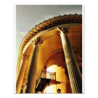 Greek Revival Portico Savannah Art Photo