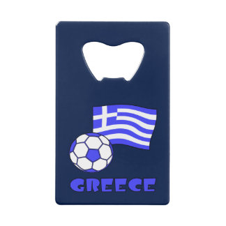Greek Soccer and Flag
