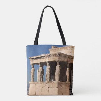 Greek Temple Tote Bag
