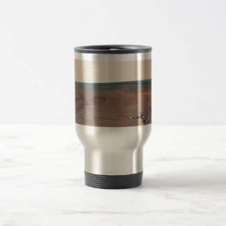 Greeley Haven Panorama Mars Rover Opportunity Travel Mug