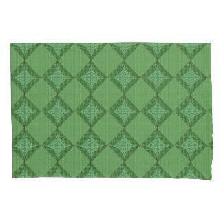 Green Abstract Pattern Pillowcase