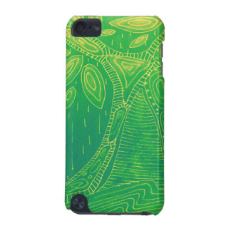 Green Abstract Tree Digital Art iPod Touch (5th Generation) Covers