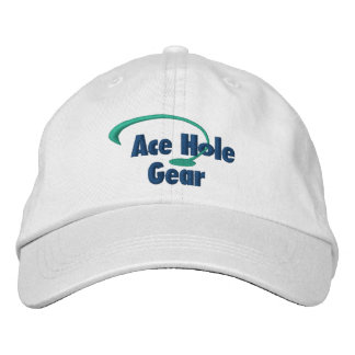 Green and Blue Logo Embroidered Baseball Caps