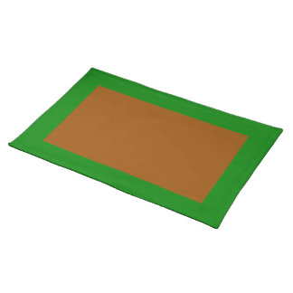 Green and Brown Placemat
