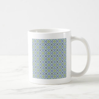 Green And Purple Pattern Coffee Mug