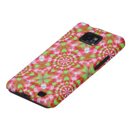 Green and Red Whirling Dervish Samsung Galaxy S Samsung Galaxy Case
