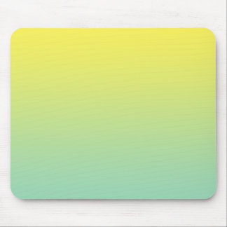 """""""Green And Yellow Ombre"""" Mouse Pad"""