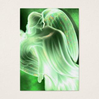 Green Angel Prayer Card