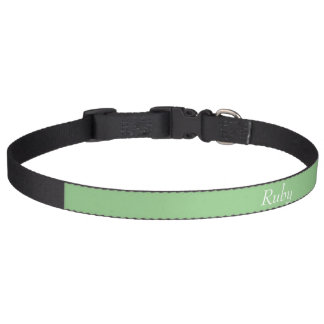 Green Apple Personalized Pet Collar