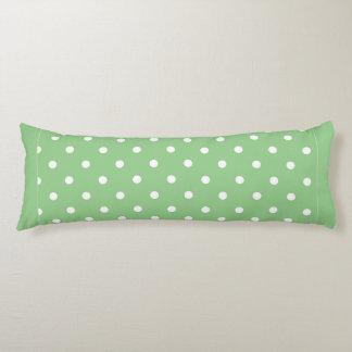 Green Apple Polka Dot Body Pillow Body Cushion