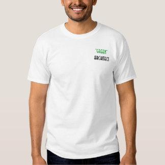 """Green Architect"" Short Sleeve Henley TShirt"