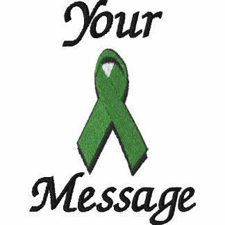 green awareness ribbon - Customize