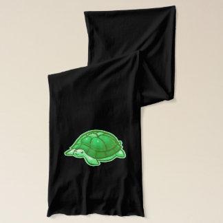 Green Baby Cartoon Turtles Scarf