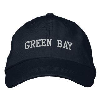 Green bay embroidered baseball caps