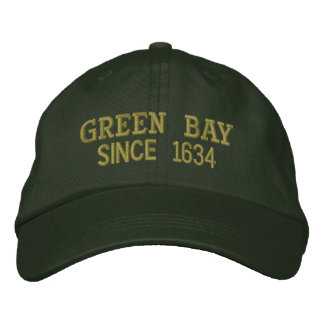 Green Bay Since 1634 Cap Embroidered Hat