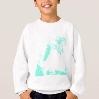Green Beach Palm Sweatshirt