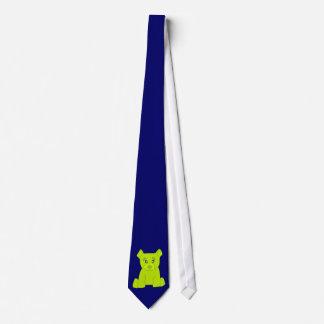 Green Bear Tie