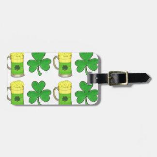 Green Beer Irish Shamrock St. Patrick's Day Tags