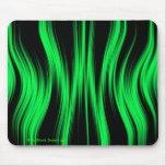 Green Black Neon Mousepad