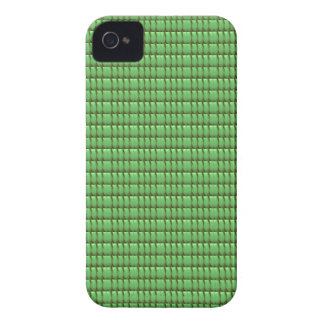 green blank crystal template iPhone 4 case